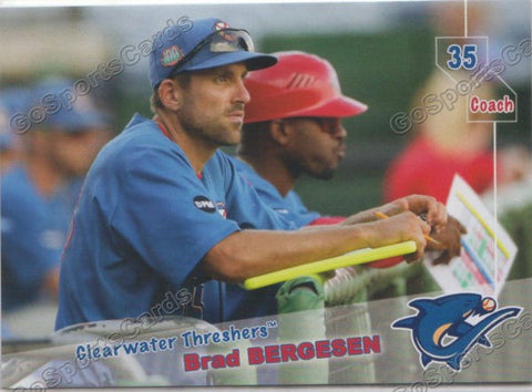 2019 Clearwater Threshers Brad Bergesen