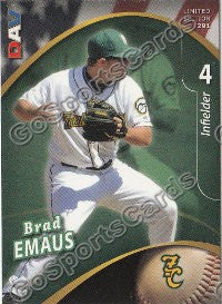2009 New Hampshire Fisher Cats DAV #291 Brad Emaus