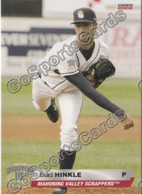 2008 Mahoning Valley Scrappers Brad Hinkle