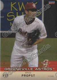 2011 Greeneville Astros James Brad Propst