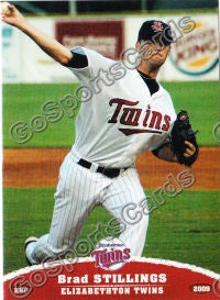 2009 Elizabethton Twins Brad Stillings