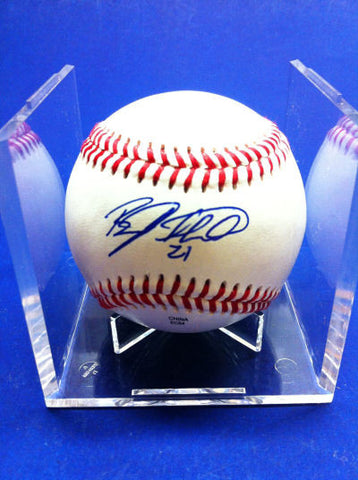 Brady Shoemaker Signed Baseball Auto