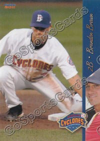 2011 Brooklyn Cyclones Brandon Brown