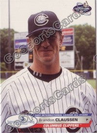 2003 International League All-Stars Choice Brandon Claussen