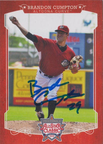 Brandon Cumpton 2012 Eastern League All Star (Autograph)