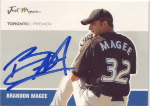 Brandon Magee 2007 Just Autographs #28 (Autograph)