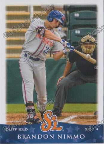 2014 St Lucie Mets Team Set