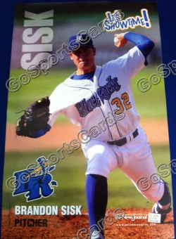 2009 Wilmington Blue Rocks Brandon Sisk Poster SGA