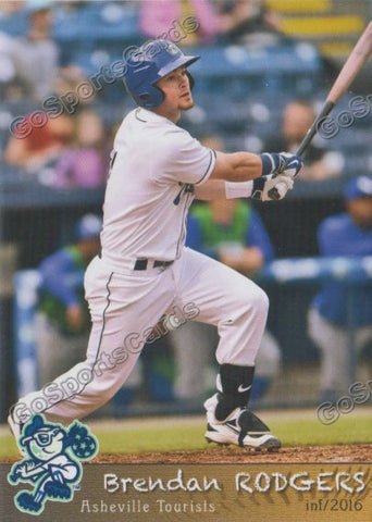 2016 Asheville Tourists Team Set