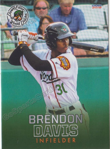 2018 Down East Wood Ducks Brendon Davis
