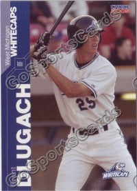 2005 West Michigan WhiteCaps Brent Dlugach
