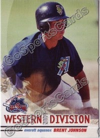 2004 GrandStand Northwest League All Star Brent Johnson
