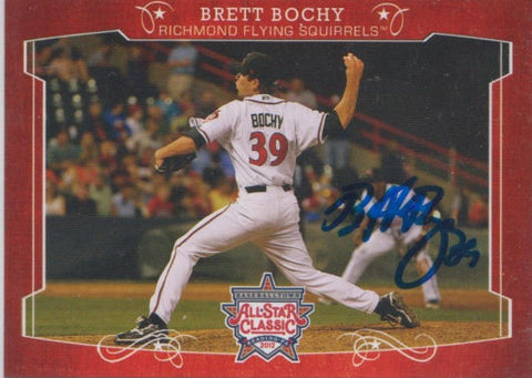 Brett Bochy 2012 Eastern League All Star (Autograph)