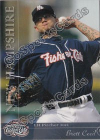 2012 New Hampshire Fisher Cats Team Set