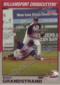 2005 Williamsport Crosscutters Brett Grandstrand