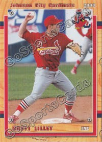 2008 Johnson City Cardinals Brett Lilley
