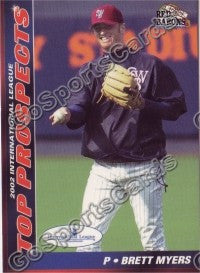 2002 International League Top Prospects Choice Brett Myers