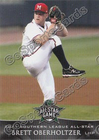2011 Southern League All Star South Division Brett Oberholtzer