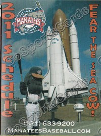 2011 Brevard County Manatees Pocket Schedule