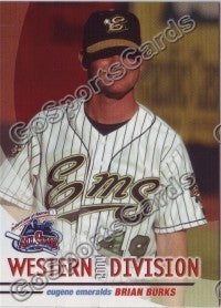 2004 GrandStand Northwest League All Star Brian Burks