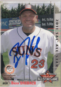 Brian Daubach 2011 South Atlantic League All Star (Autograph)