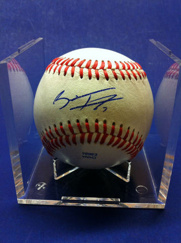 Brian Fletcher Signed Baseball Auto