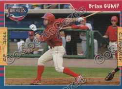 2011 Clearwater Threshers Brian Gump