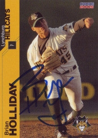 Brian Holliday 2005 Lynchburg Hillcats (Autograph)