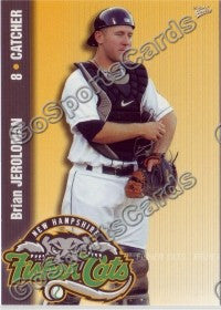 2009 New Hampshire Fisher Cats Brian Jeroloman