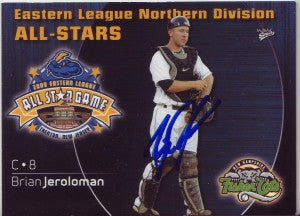Brian Jeroloman 2009 Eastern League All Stars (Autograph)