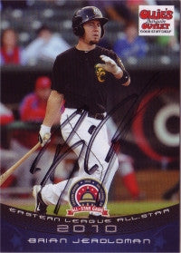 Brian Jeroloman 2010 Eastern League All Star (Autograph)