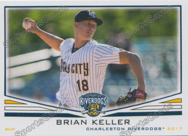 2017 Charleston RiverDogs Brian Keller