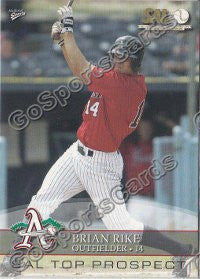 2008 South Atlantic League Top Prospects Brian Rike