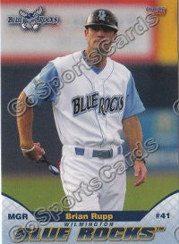 2011 Wilmington Blue Rocks Brian Rupp