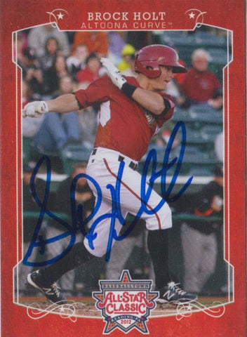 Brock Holt 2012 Eastern League All Star (Autograph)