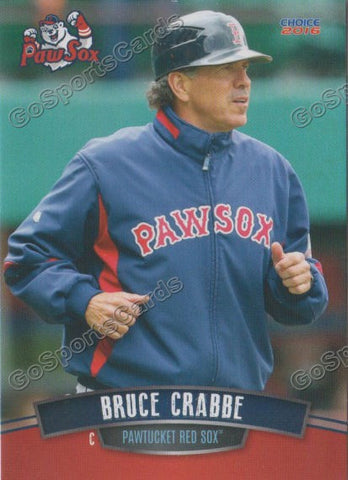 2016 Pawtucket Red Sox Bruce Crabbe