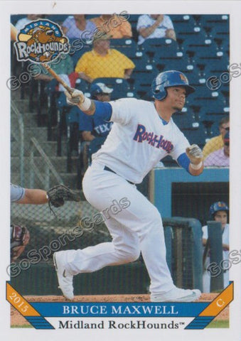 2015 Midland RockHounds Bruce Maxwell