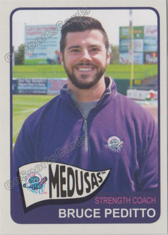 2019 Medusas de Lakewood BlueClaws Bruce Peditto