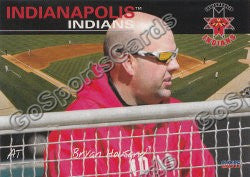 2011 Indianapolis Indians Bryan Housand