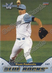 2011 Wilmington Blue Rocks Bryan Paukovits
