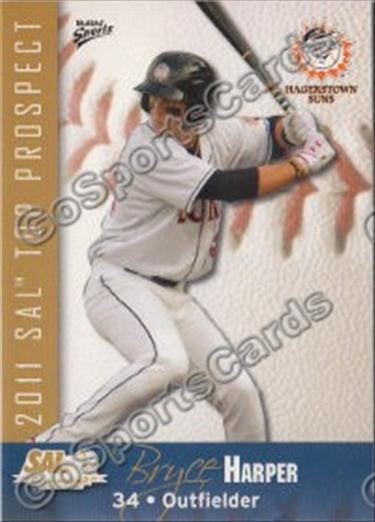 2011 South Atlantic League Top Prospects Team Set