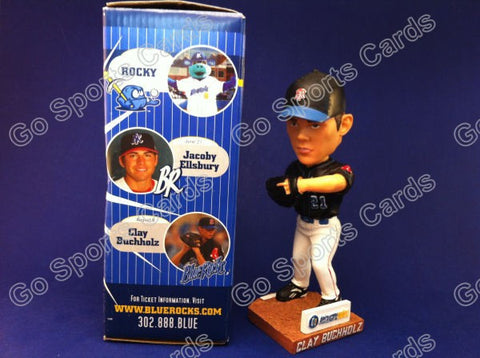 2008 Clay Buchholtz Wilmington Blue Rocks Bobblehead SGA NIB