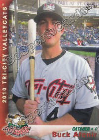 2010 Tri City ValleyCats Buck Afenir