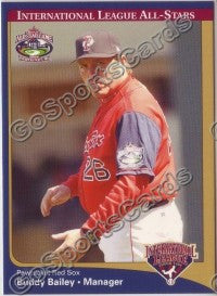 2004 International League All-Stars Buddy Bailey MGR
