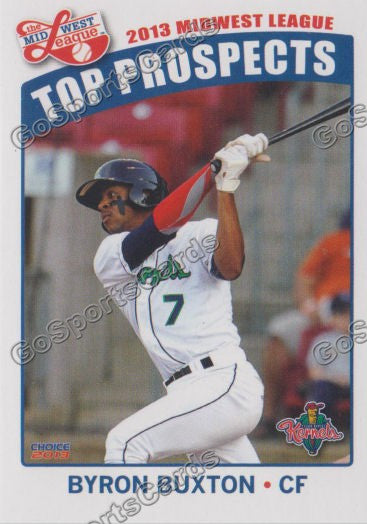 2013 MidWest League Top Prospects Team Set MWL