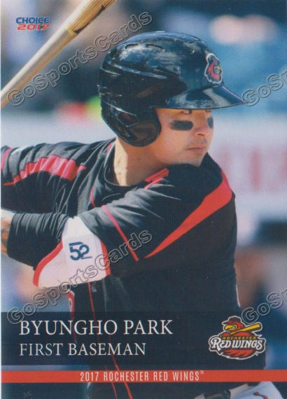 2017 Rochester Red Wings Byungho Park