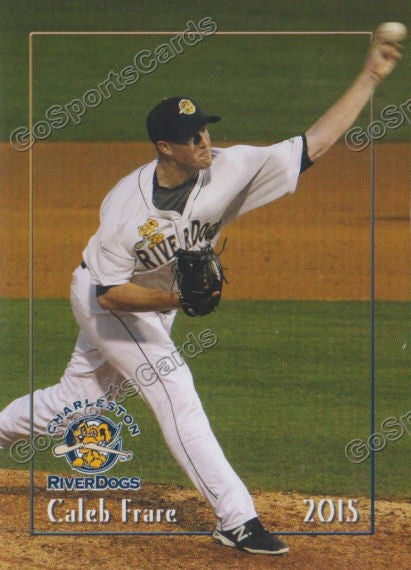 2015 Charleston Riverdogs Caleb Frare