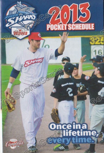2013 Camden Riversharks Pocket Schedule
