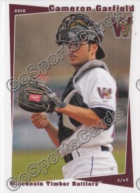 2010 Wisconsin Timber Rattlers Cameron Garfield