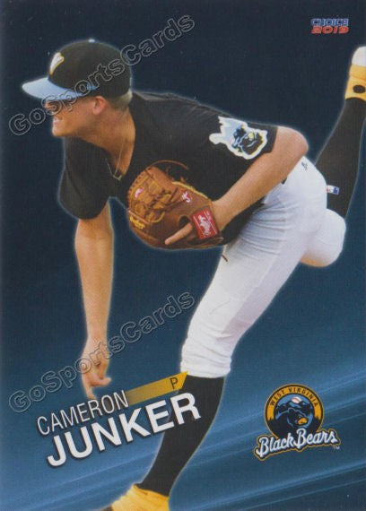 2019 West Virginia Black Bears Cameron Junker